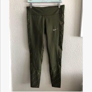Nike Dri Fit full length leggings sz: L